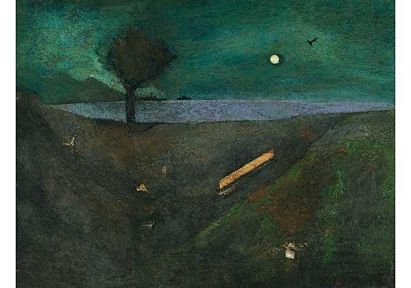 Из серии «Сочи». Лунный пейзаж