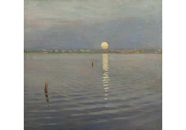 Луна над рекой