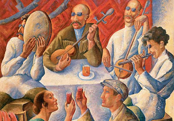 Слепые музыканты