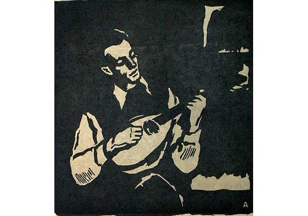 Young Man with a Mandolin