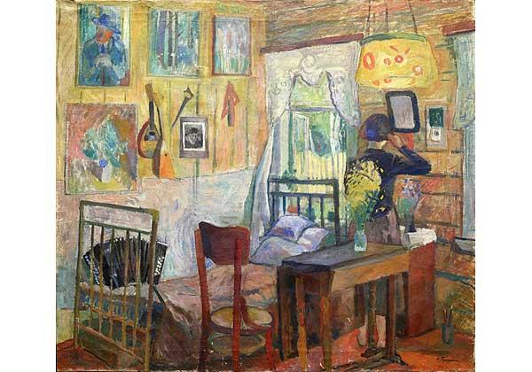 Комната художника