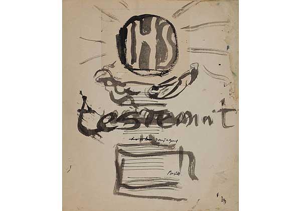 Le grand testament (Большое завещание) Титульный лист