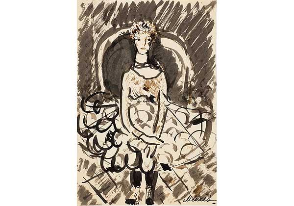 Девочка в кружевном платье
