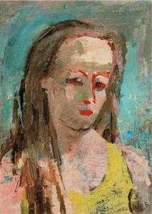 Кольцова-Бычкова А Г Автопортрет Около 1930