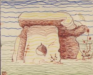 Рисунок Б. В. Ермоленко, 1920-е гг.