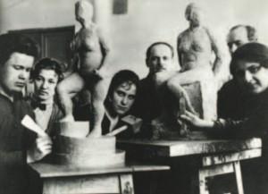 Основное отделение Вхутеина, мастерская «Объем». 1929
