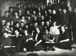 Основное отделение Вхутемаса, мастерская